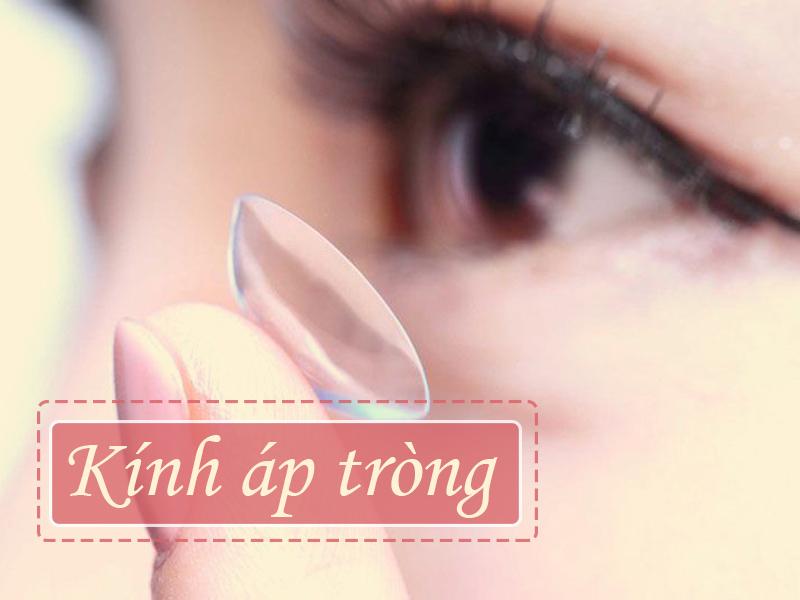 Điều trị cận thị bằng cách đeo kính áp tròng